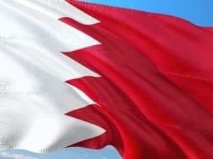 דגל בחריין מתנופף