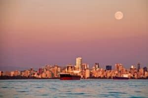 city over sea