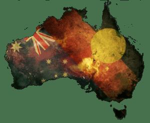 דגל אוסטרליה על היבשת