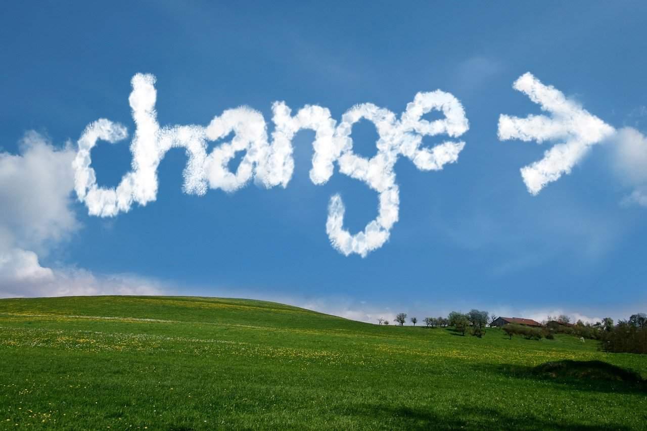 שינוי בענני השמיים